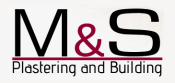 M & S Plastering and Building Logo